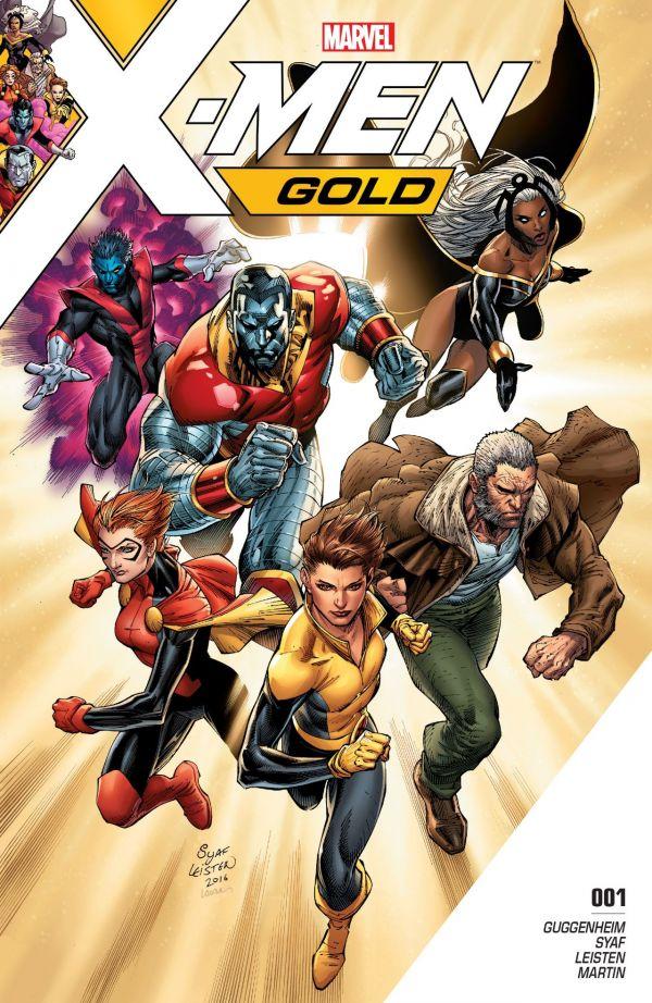 X-MEN GOLD 1 : LE MAUVAIS MESSAGE AU MAUVAIS ENDROIT...