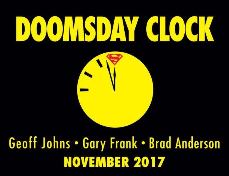 [MAJ]  GEOFF JOHNS REVIENT POUR DOOMSDAY CLOCK !