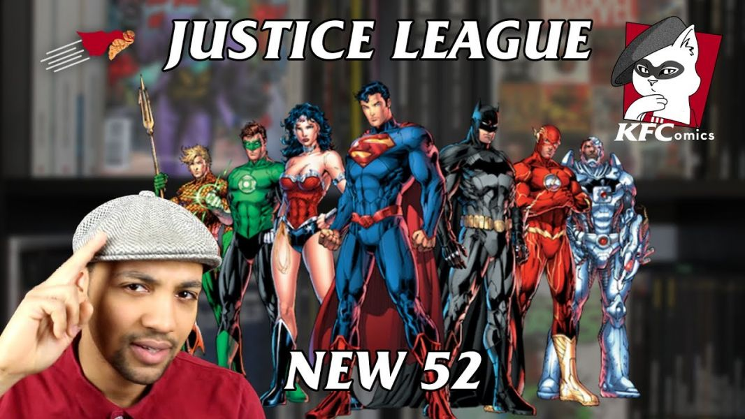 K.F.COMICS 2 : JUSTICE LEAGUE (NEW 52)