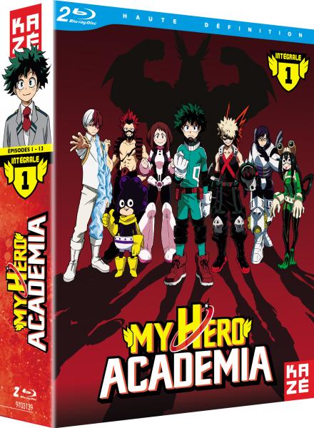 My Hero Academia en DVD et Blu-ray en août !