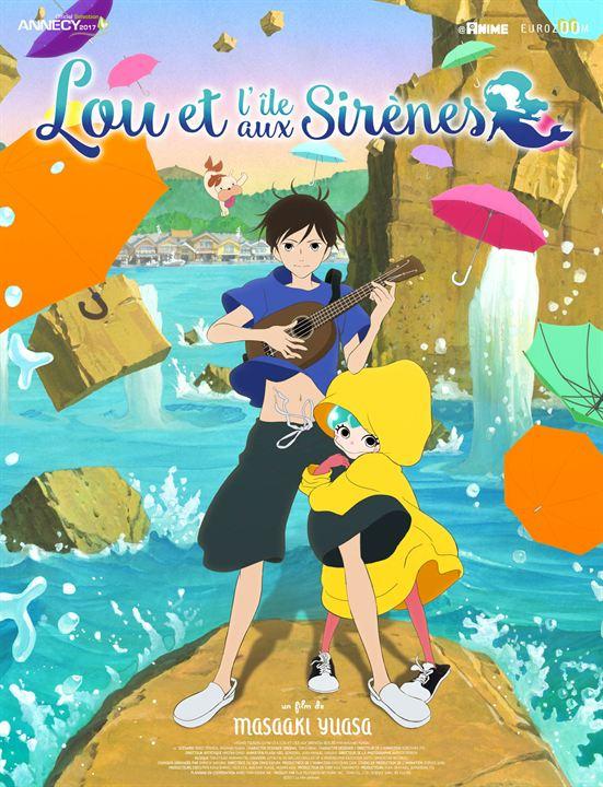 Lou et l'île aux sirènes récompensé à Annecy