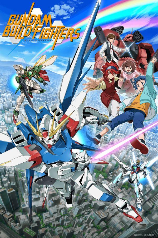 Gundam Build Fighters sur Crunchyroll