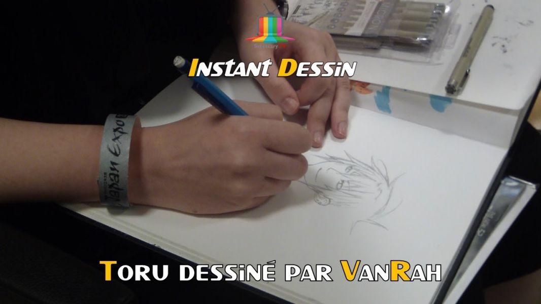 Instant dessin : VanRah dessine Toru
