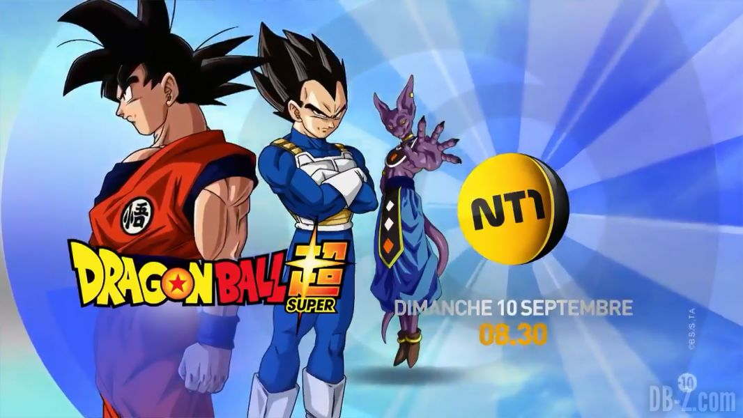 Dragon Ball Super arrive sur NT1