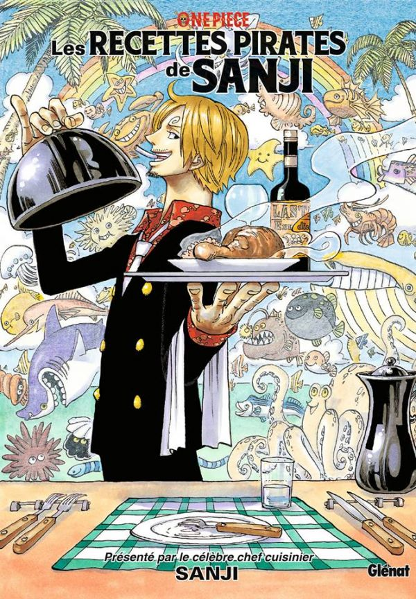 Les recettes pirates de Sanji chez Glénat