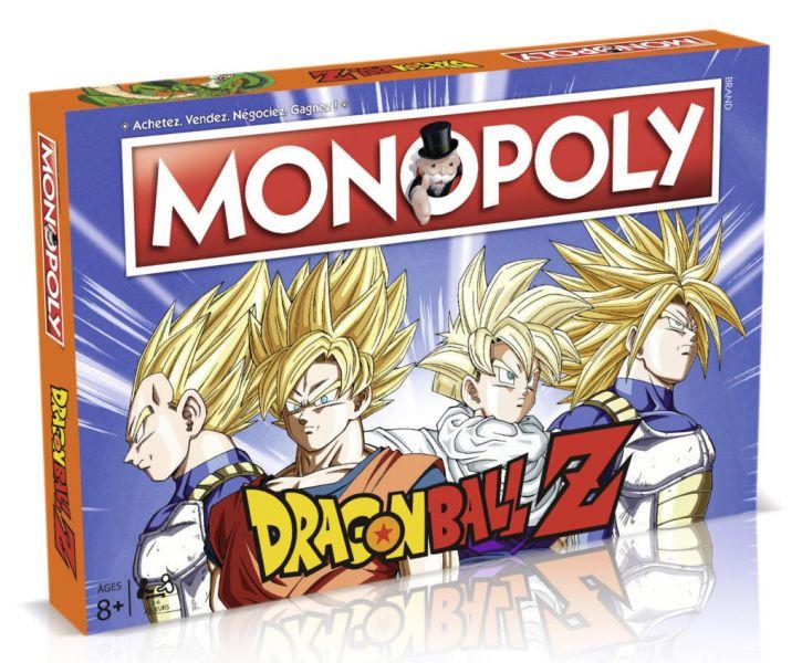 Le Monopoly DBZ arrive en France