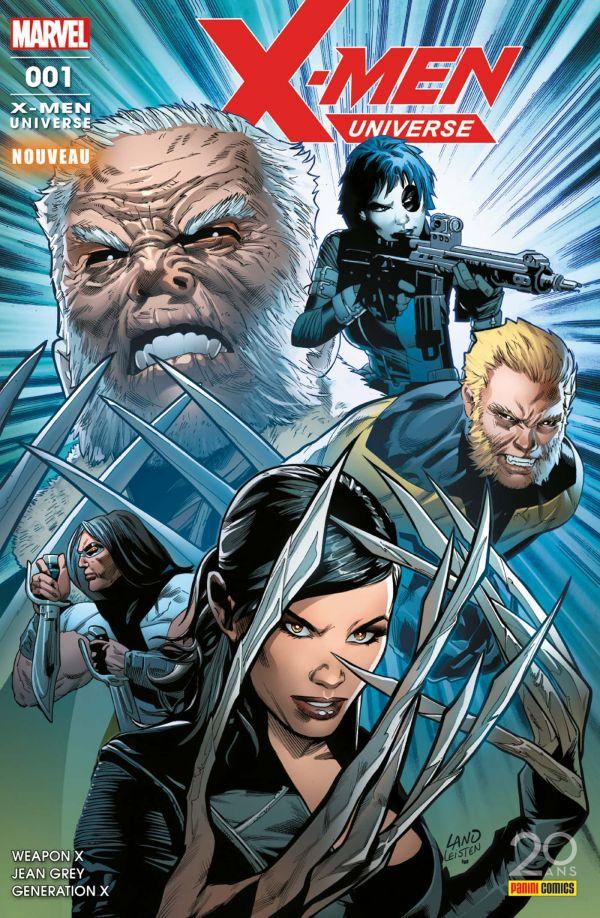 LECTURE EN LIGNE : X-MEN UNIVERSE 1 (Panini comics)