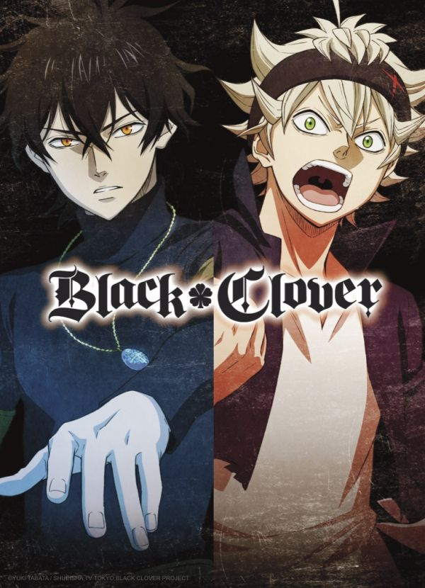 L'anime Black Clover sur Crunchyroll