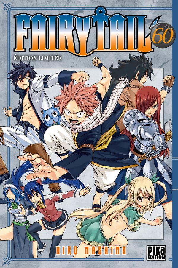Fairy Tail 60 en édition limitée chez Pika