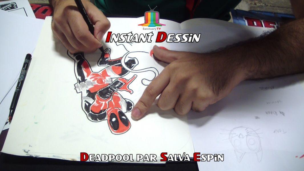 Instant dessin : Salva Espin dessine Deadpool