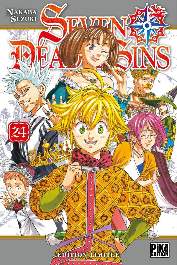 Seven Deadly Sins aura aussi son édition limitée