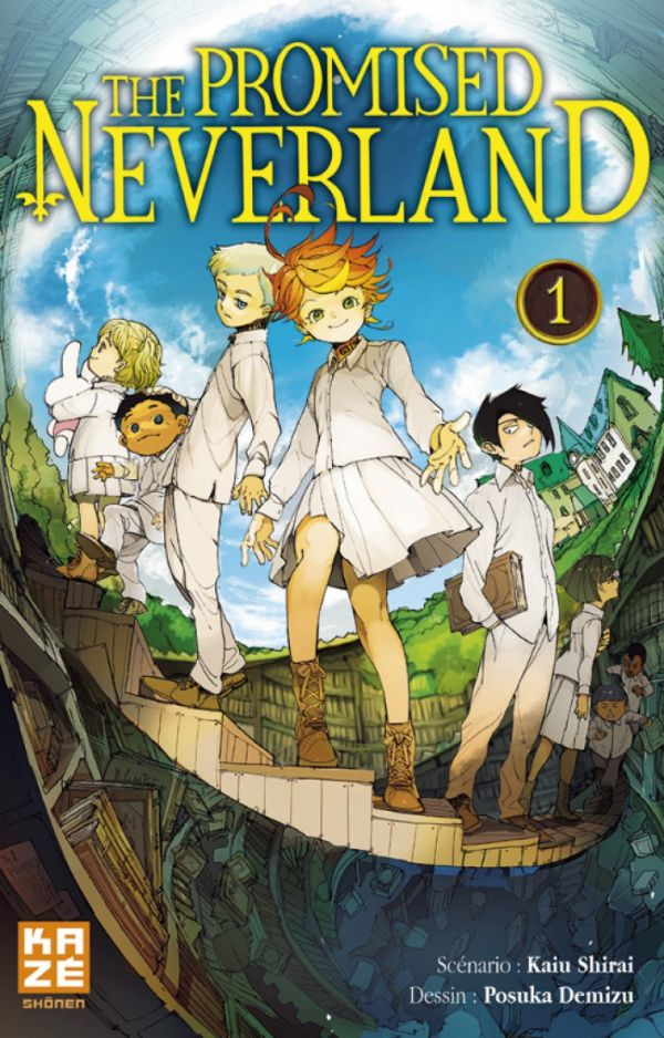 The Promised Neverland chez Kazé manga
