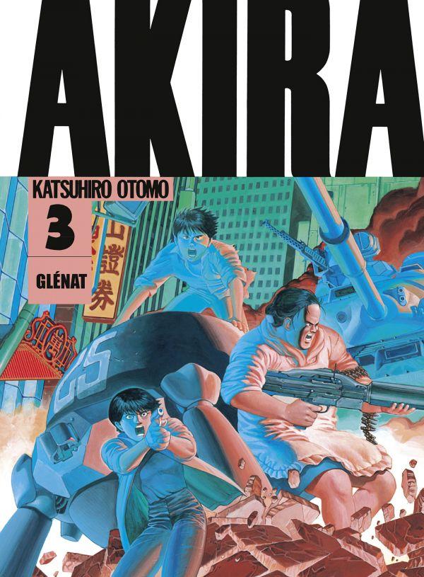 Akira tome 3 encore repoussé