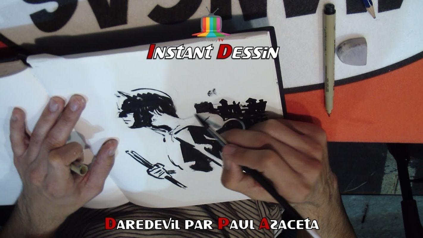 Instant dessin : Paul Azaceta dessine Daredevil