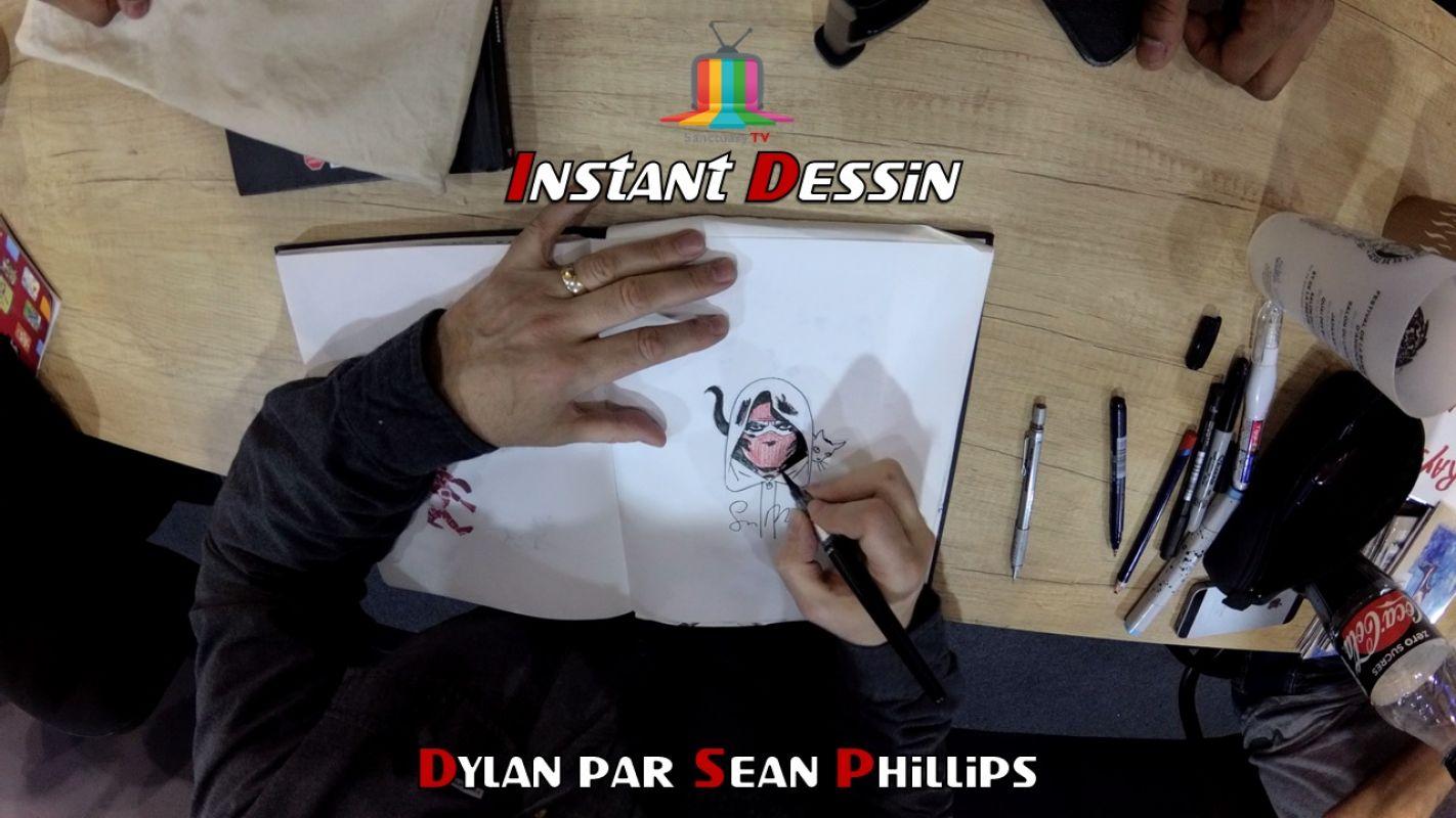 Instant dessin : Sean Phillips dessine Dylan