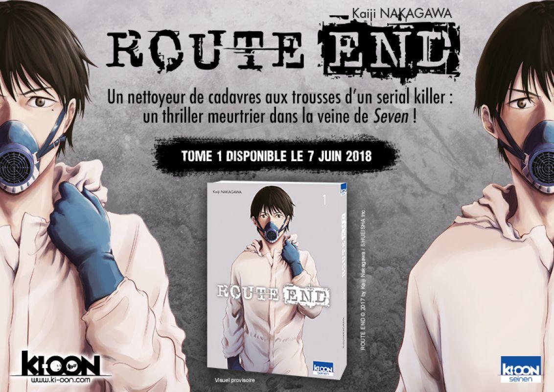 Nouveau Thriller chez Ki-oon : Route End