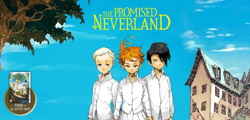 The promised Neverland: chapitre 1 en ligne