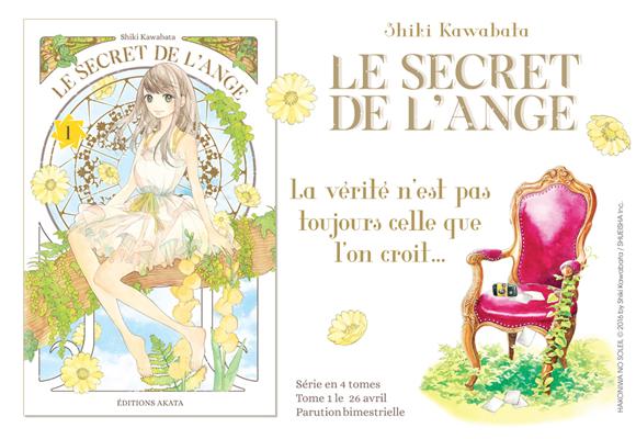 Le Secret de l'Ange chez Akata