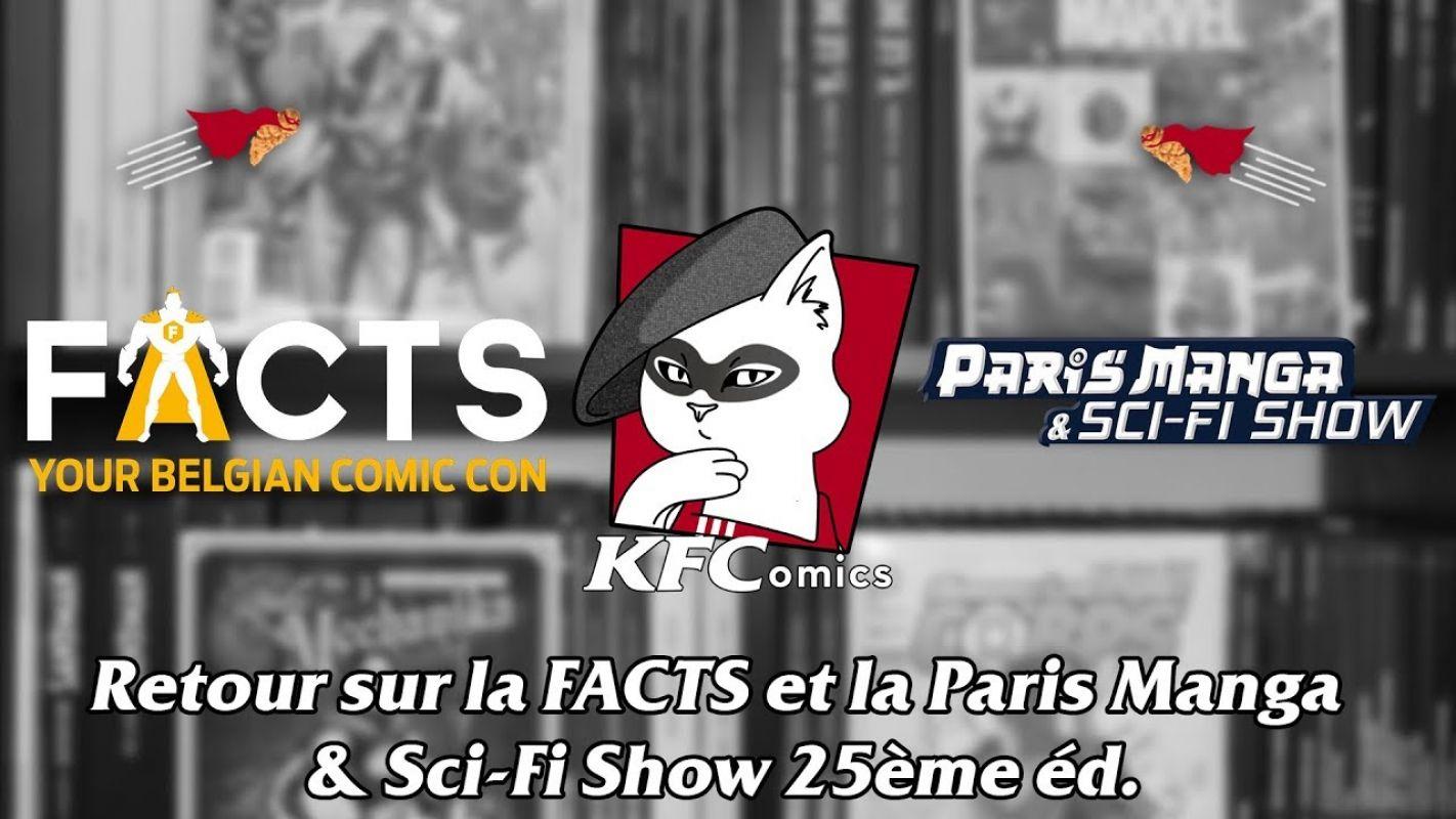 KFComics HS : Retour sur la FACTS et la Paris Manga & Sci fi show 25ème éd.