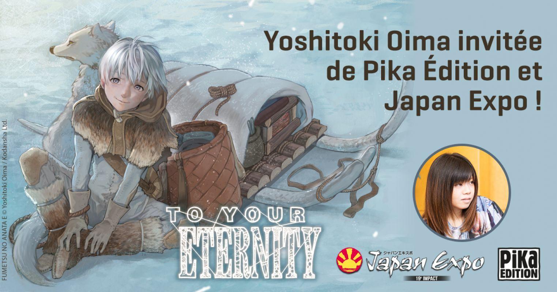 Yoshitoki Oima en France pour la Japan Expo