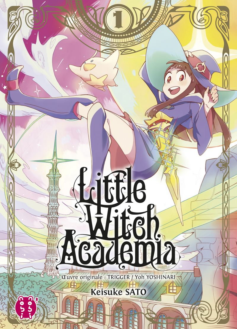 Little Witch Academia chez nobi nobi!
