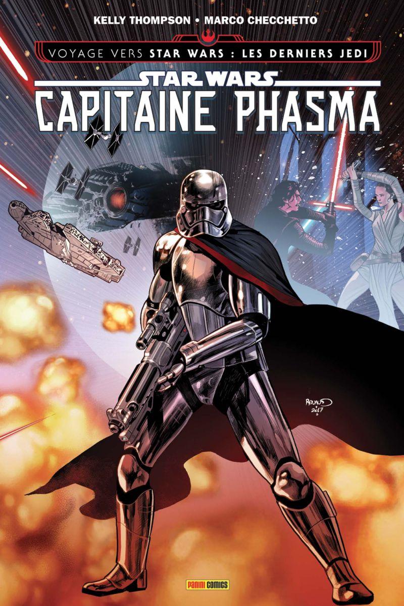 LECTURE EN LIGNE : CAPTAIN PHASMA (Panini comics)