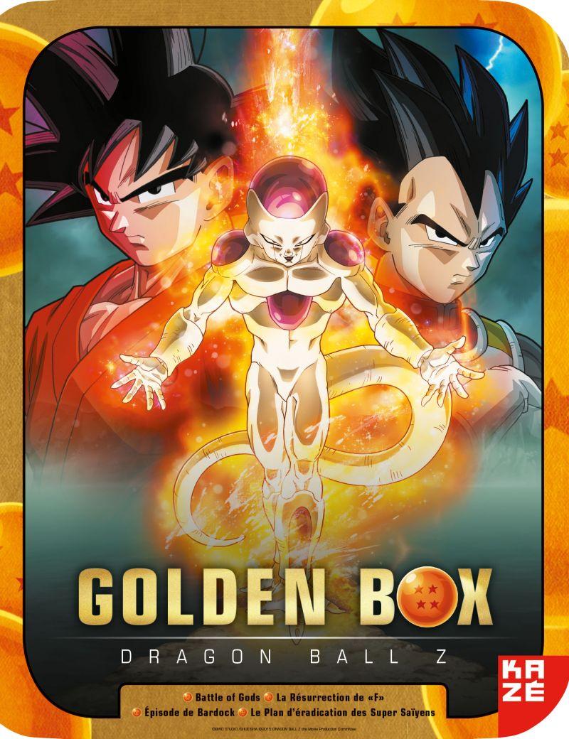 La golden box Dragon Ball Z arrive