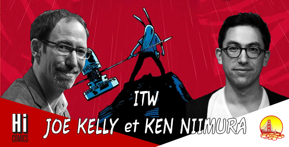 INTERVIEW JOE KELLY & KEN NIIMURA [I KILL GIANTS]