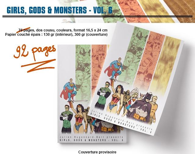 Dernier jour pour le projet Girls, Gods & Monsters 6 !