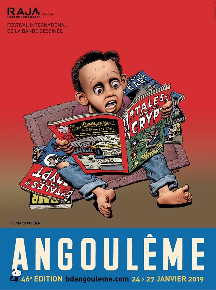 Angoulême 2019 : les affiches officielles !