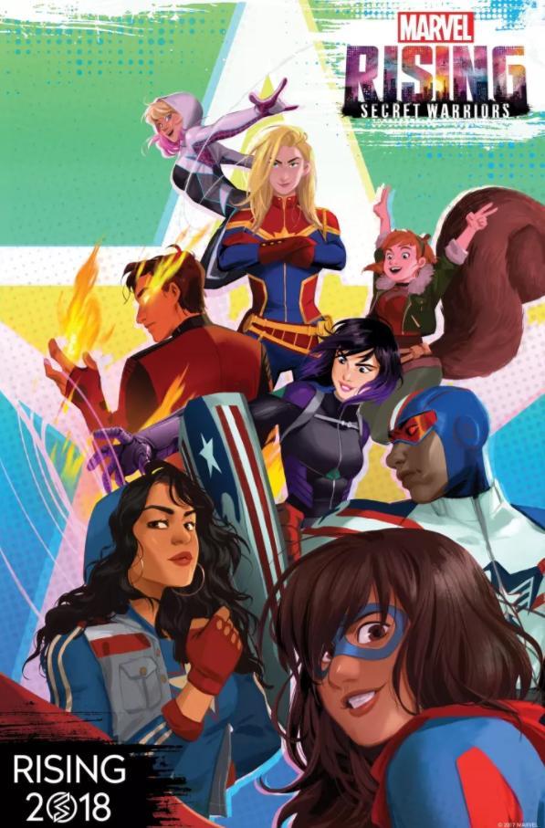 Bande-annonce : Marvel Rising - Secret Warriors