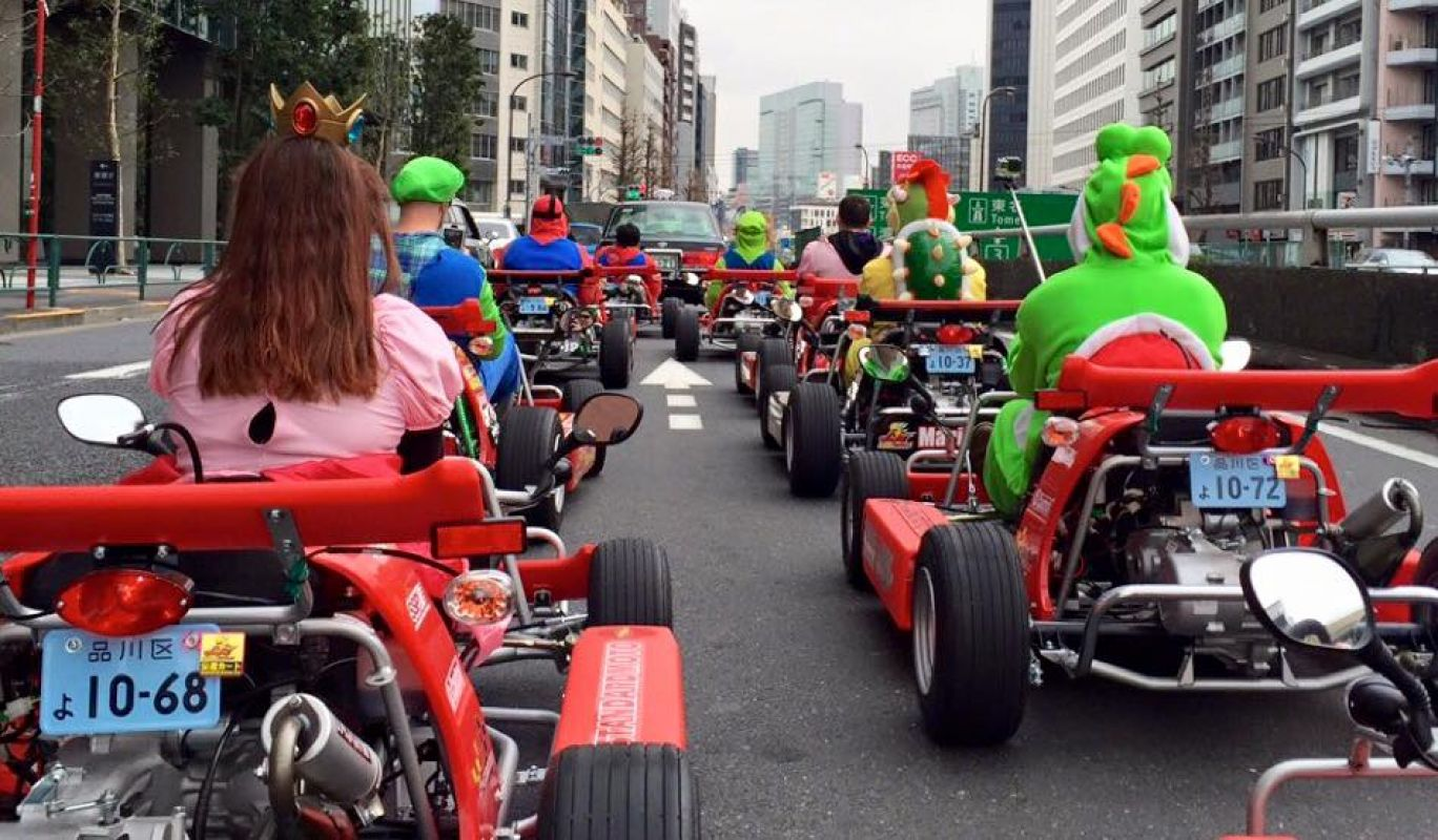 La fin des courses Mario Kart à Tokyo ?