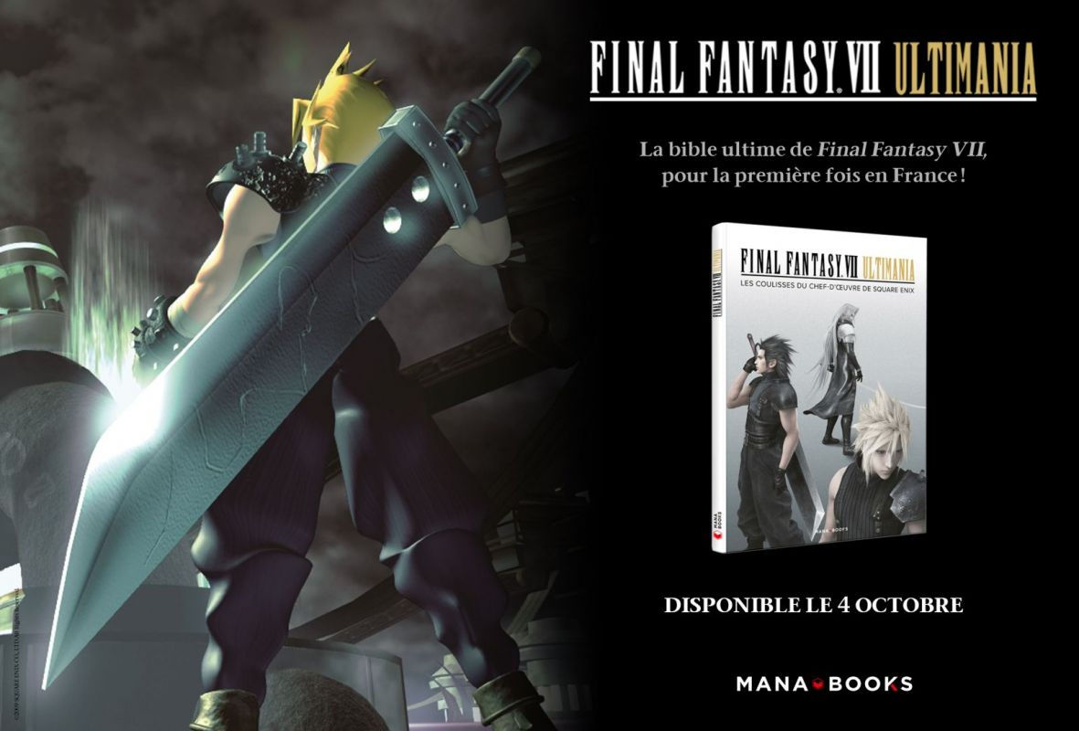 Final Fantasy VII Ultimania chez Mana Books