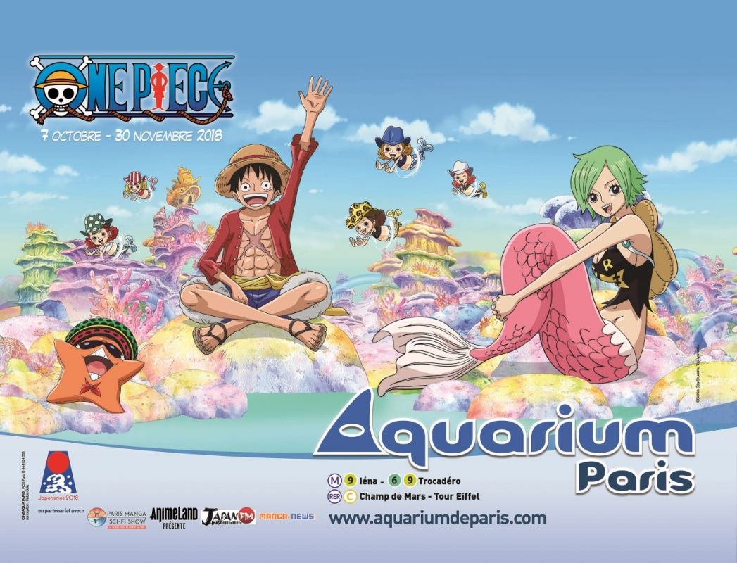 One Piece à l'Aquarium de Paris