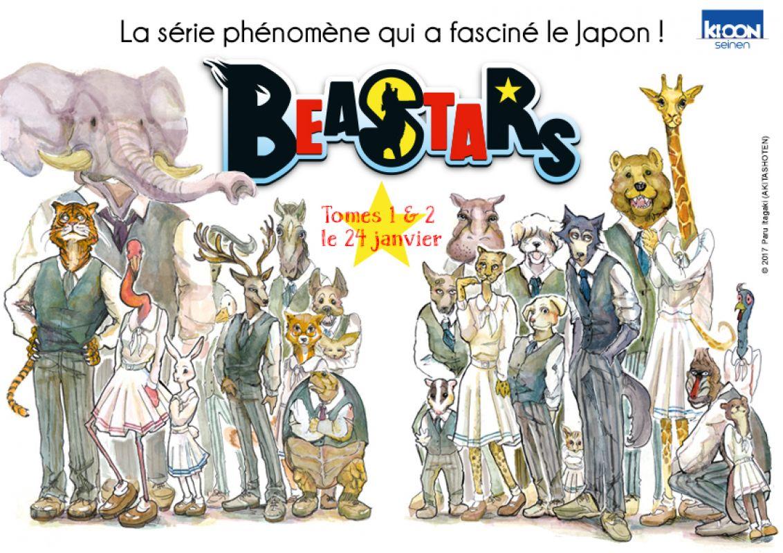 Beastars chez Ki-oon