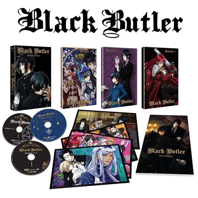 Deux coffrets collectors pour l'anime Black Butler