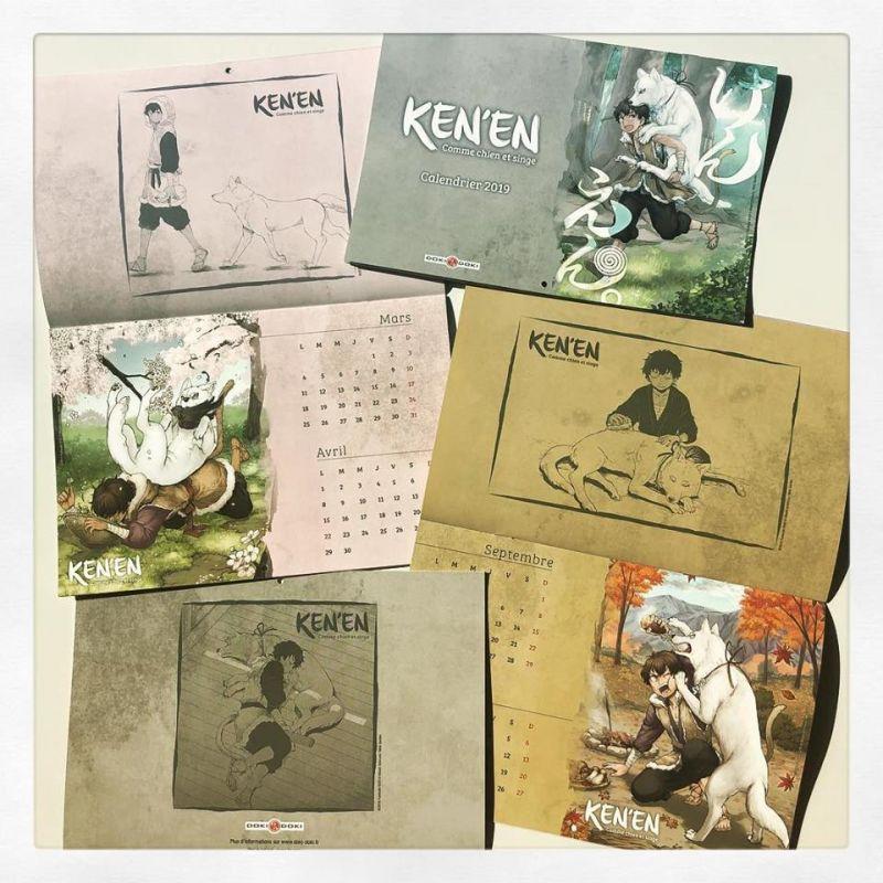 Un calendrier pour découvrir Ken'en