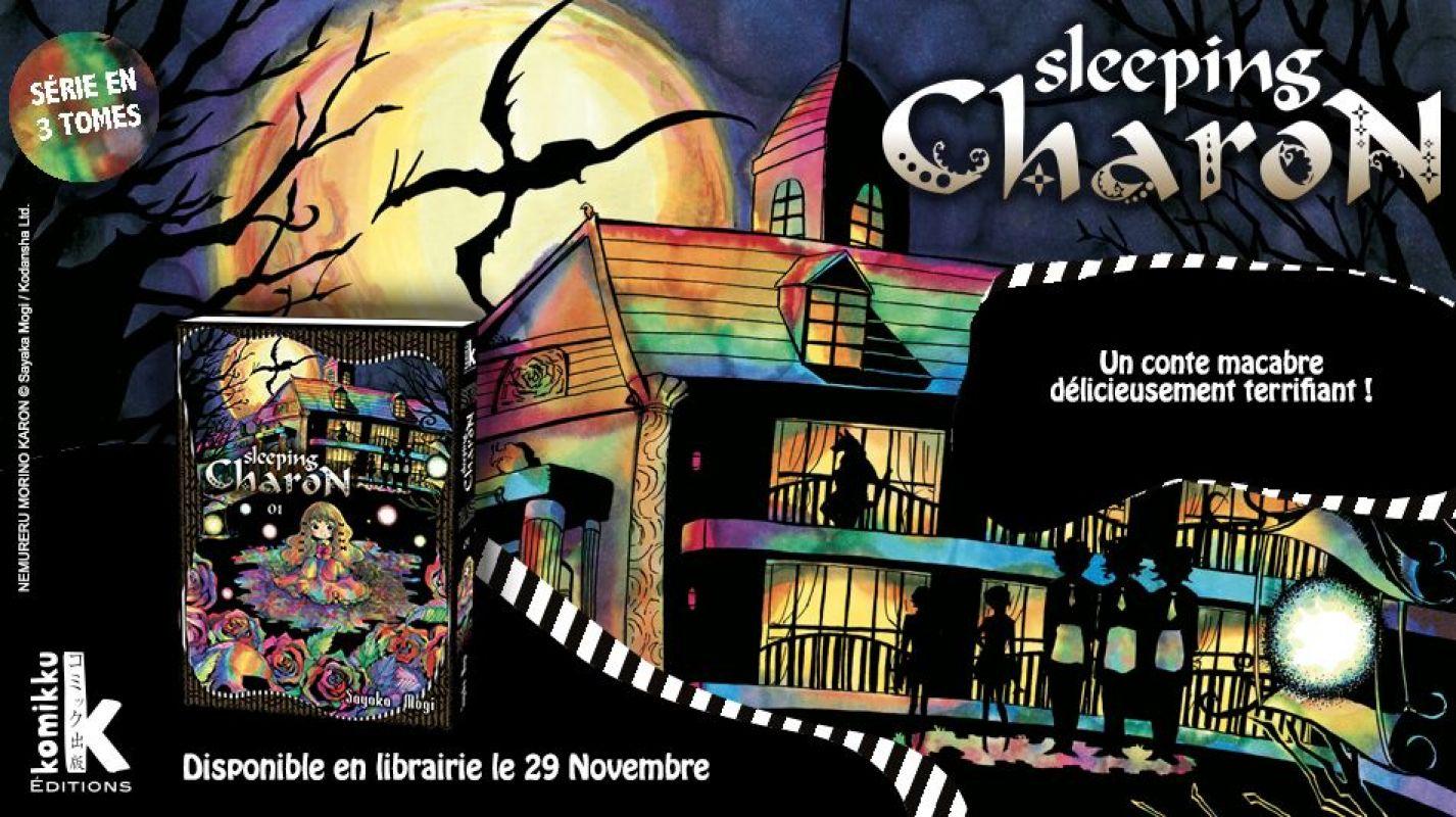 'Sleeping Charon', la nouvelle série de Mogi Sayaka chez Komikku
