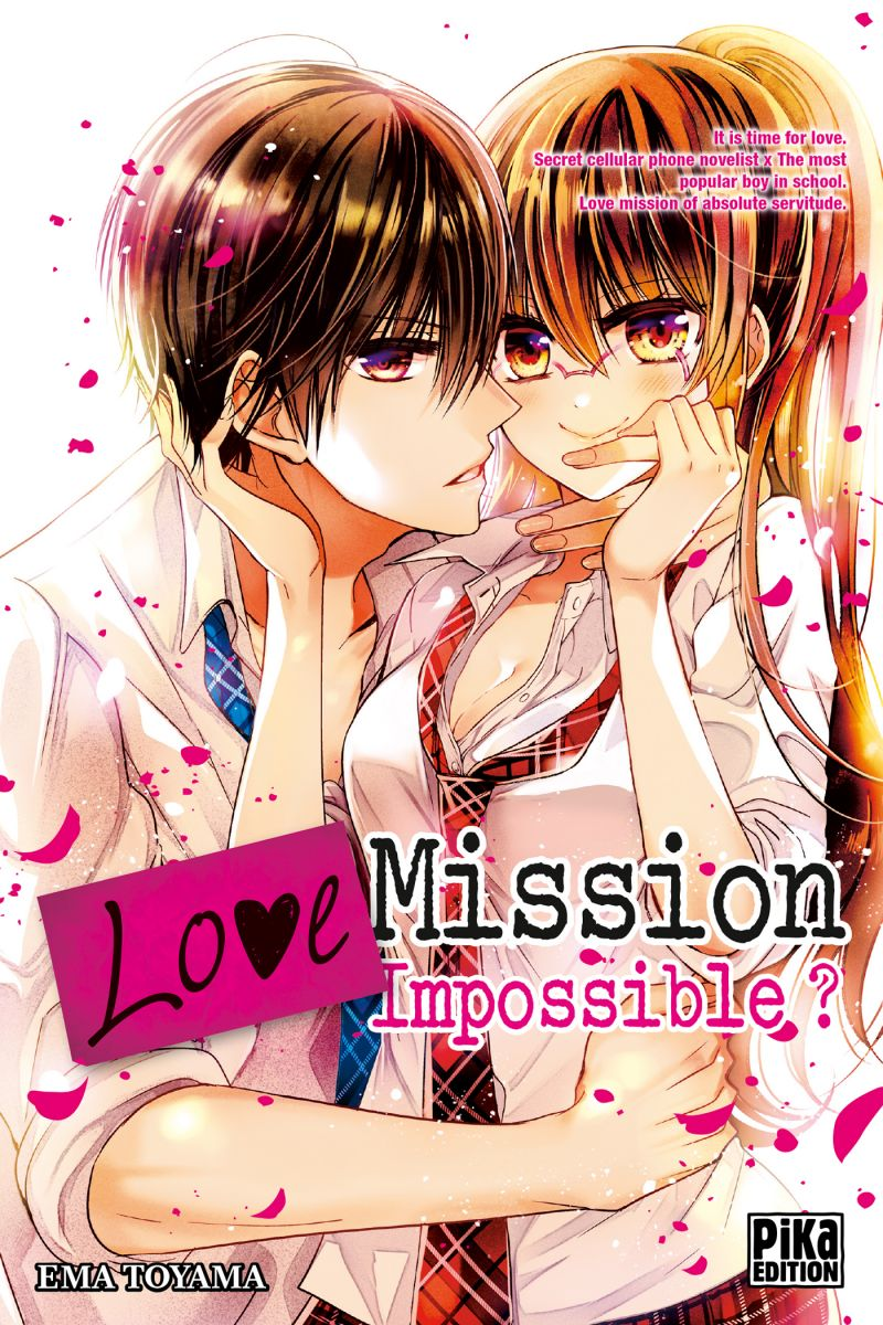 Ema Toyama revient chez Pika avec 'Love Mission Impossible ?'