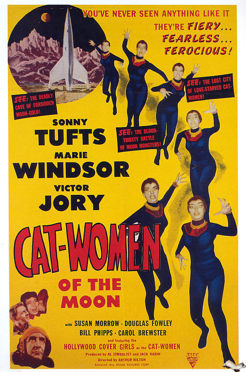 Retour vers le passé : Cat-Women of the Moon (1953)