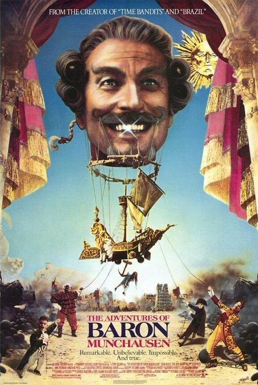 Retour vers le passé : Les Aventures du Baron de Munchausen (1988)