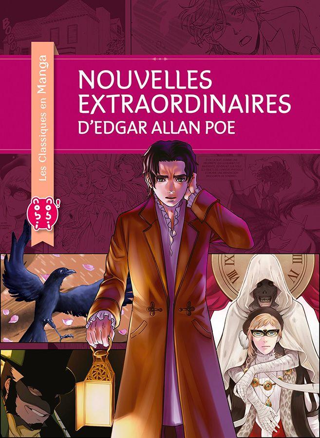 Nouveau Classique en Manga : Les Nouvelles Extraordinaires d'Edgar Allan Poe !