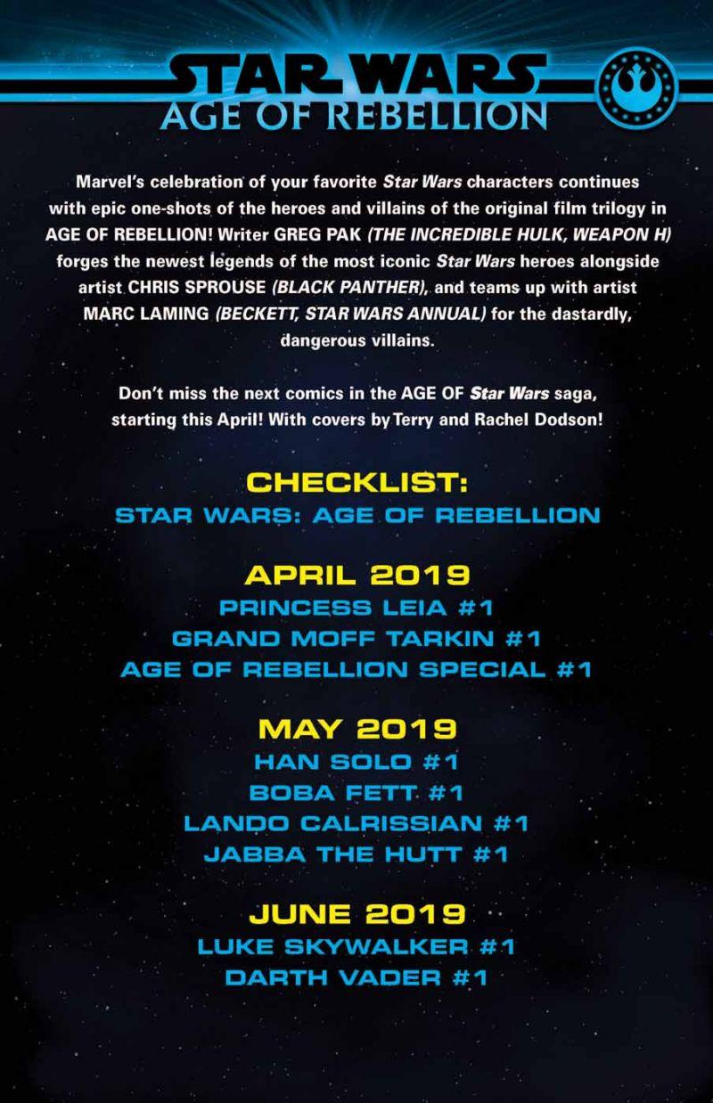 Actu V.O. : Star Wars - Age of Rebellion