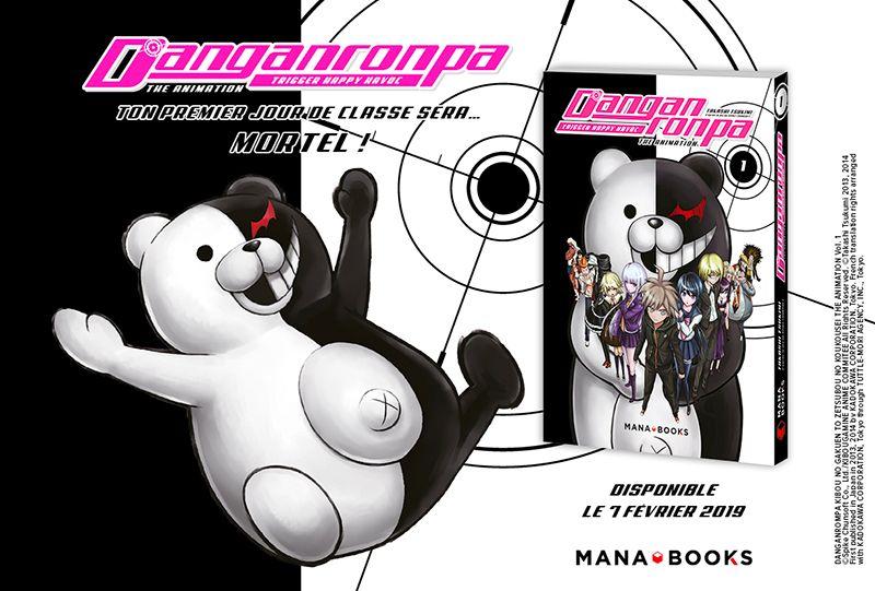 Le manga Danganronpa en février chez Mana Books !
