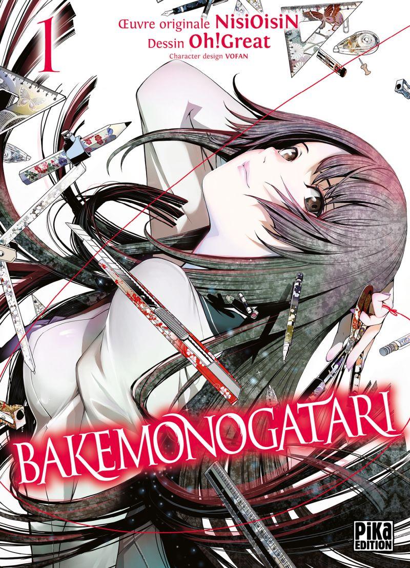 Le manga Bakemonogatari arrive chez Pika !