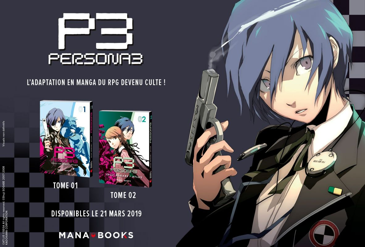 Persona 3 chez Mana Books