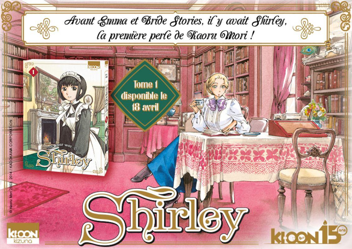 Shirley remet son habit de soubrette pour Ki-oon