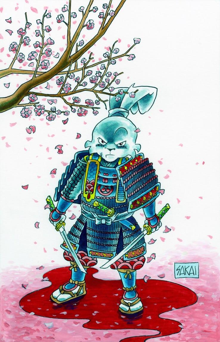 Actu V.O. : Usagi Yojimbo change d'éditeur !