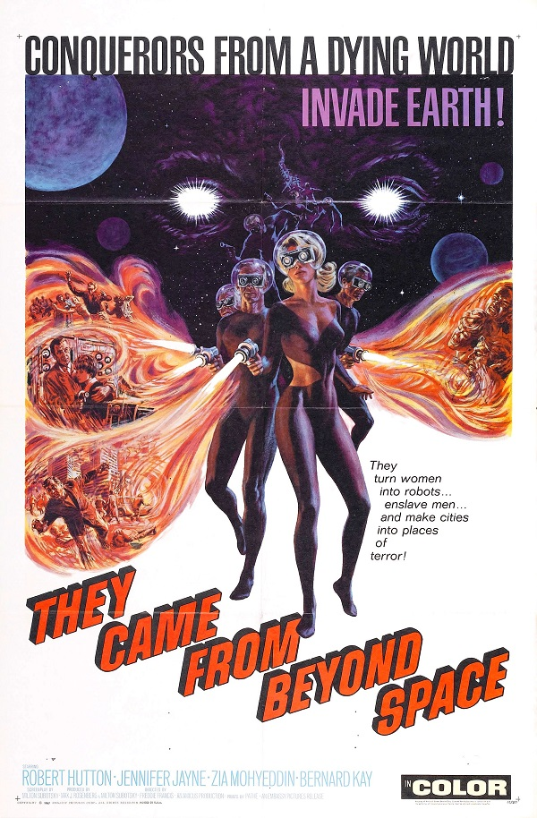 Retour vers le passé : They came from beyond space (1967)