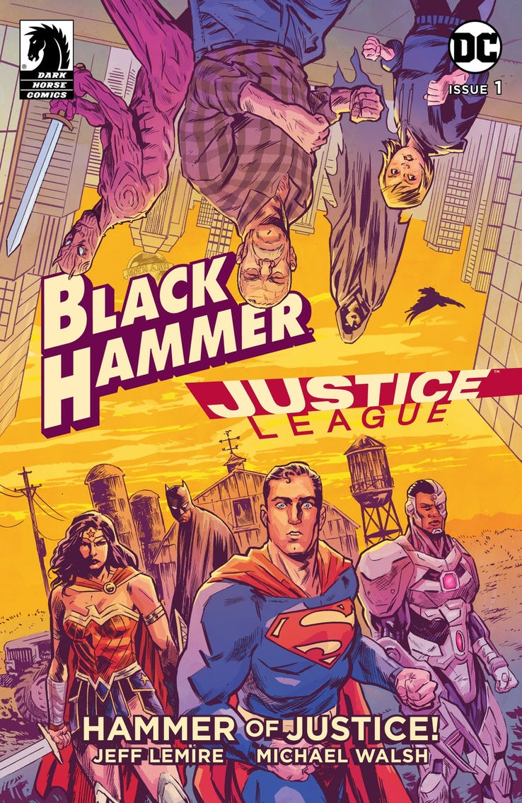 Actu V.O. : Black Hammer / Justice League - Le Crossover !